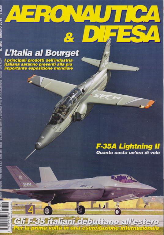 Aeronautica & Difesa - n. 392 - giugno 2019 - mensile
