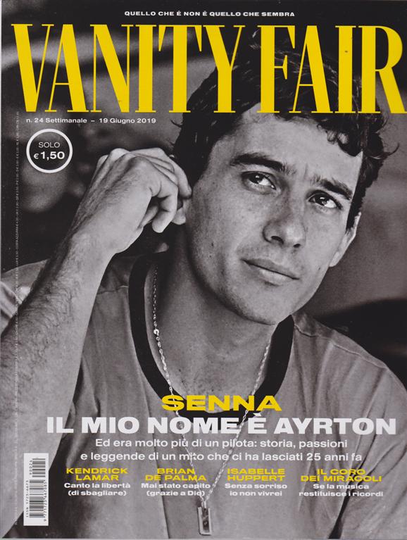 Vanity Fair - n. 24 - settimanale - 19 giugno 209 -
