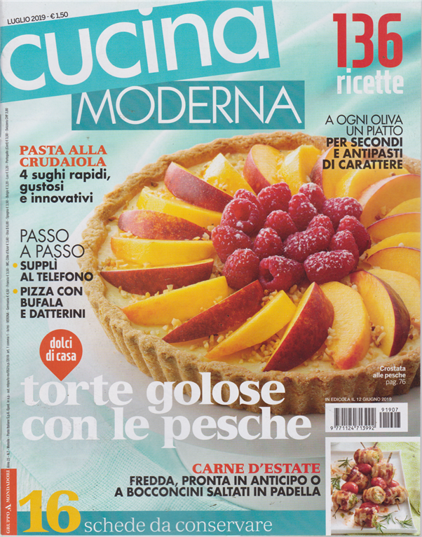 Cucina Moderna Magazine.Cucina Moderna N 7 Luglio 2019 Mensile Edicola Shop