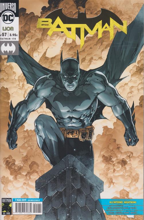 Batman Magazine - n. 170 - 7 maggio 2019 - quindicinale