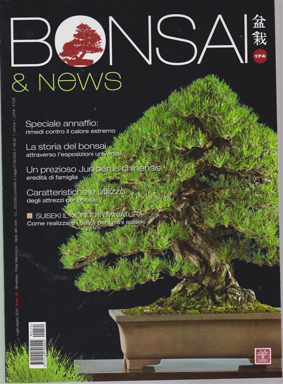 Bonsai E News - n. 174- luglio - agosto 2019 - bimestrale -