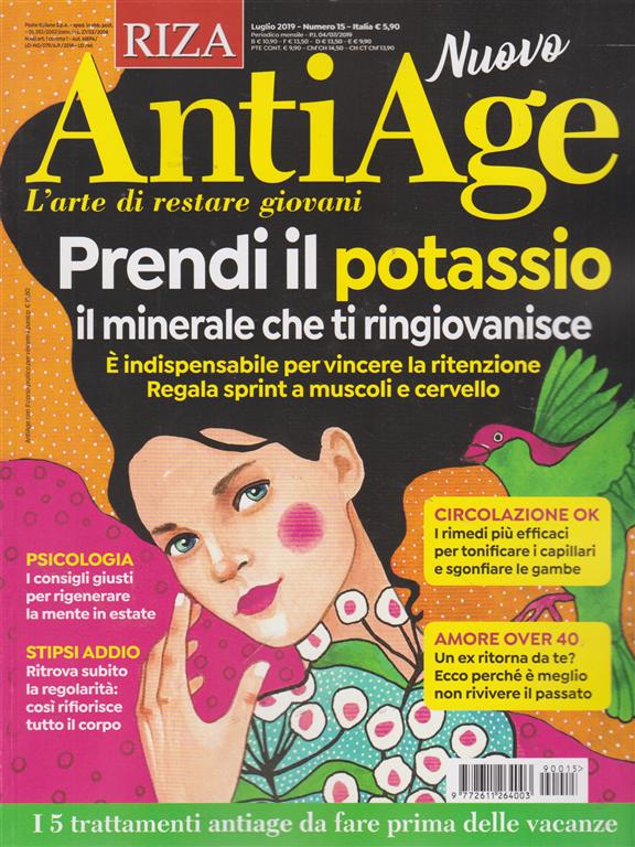 Riza Antiage - n. 15 - luglio 2019 - mensile