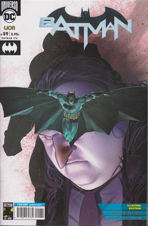 Batman Magazine - n. 172 - 7 giugno 2019 - quindicinale