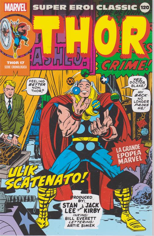 Super Eroi Classic - Thor - n. 120 - settimanale - Ulik scatenato!