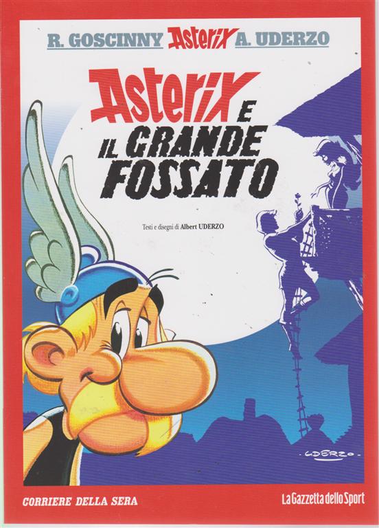 Asterix - Asterix e il grande fossato - n. 28 - settimanale