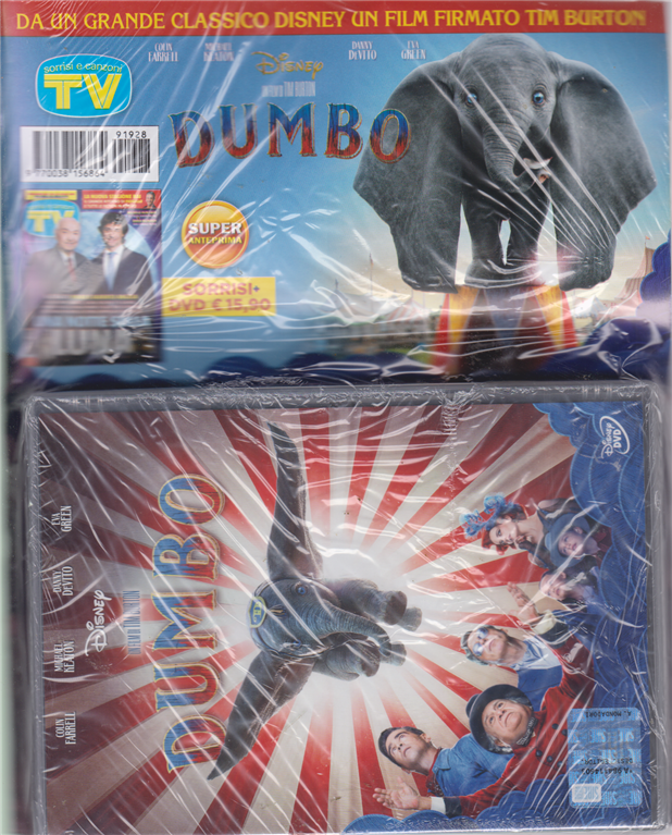 Sorrisi e Canzoni tv + dvd Dumbo - rivista + dvd