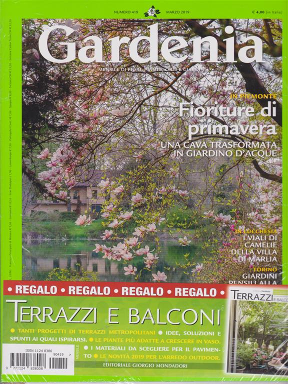 Gardenia Terrazzi E Balconi N 419 Marzo 2019