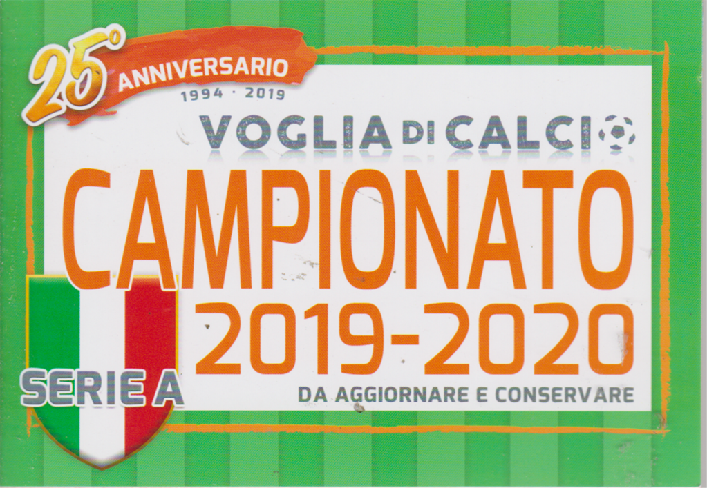 Calendario Trimestrali 2020.Voglia Di Calcio Tascabile Campionato 2019 2020 Serie A