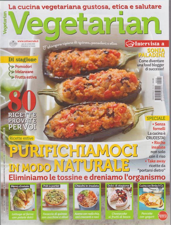 Vegetarian - n. 24 - bimestrale - settembre - ottobre 2019 -
