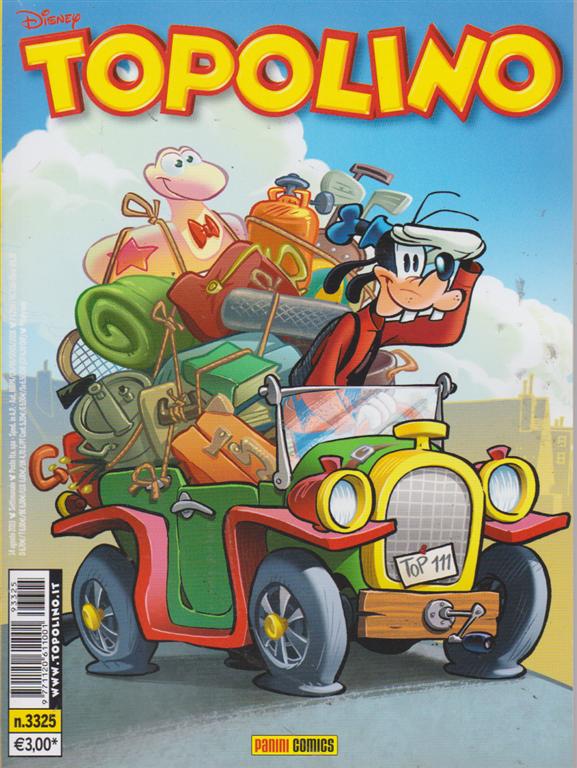 Topolino - n. 3325 - settimanale - 14 agosto 2019 -