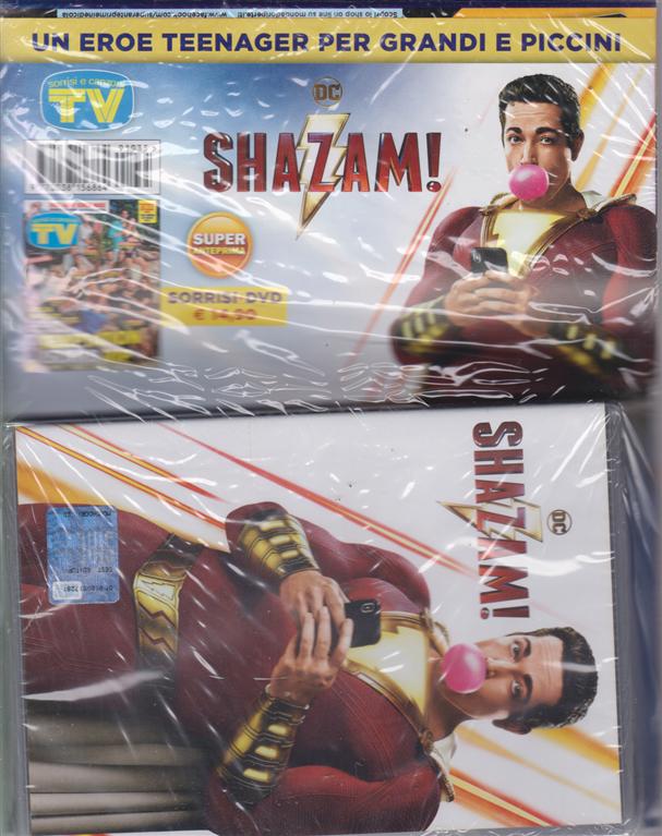 Sorrisi e canzoni tv + dvd Shazam! - rivista + dvd