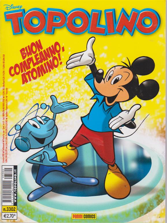 Topolino - n. 3302 - settimanale - 6 marzo 2019 -