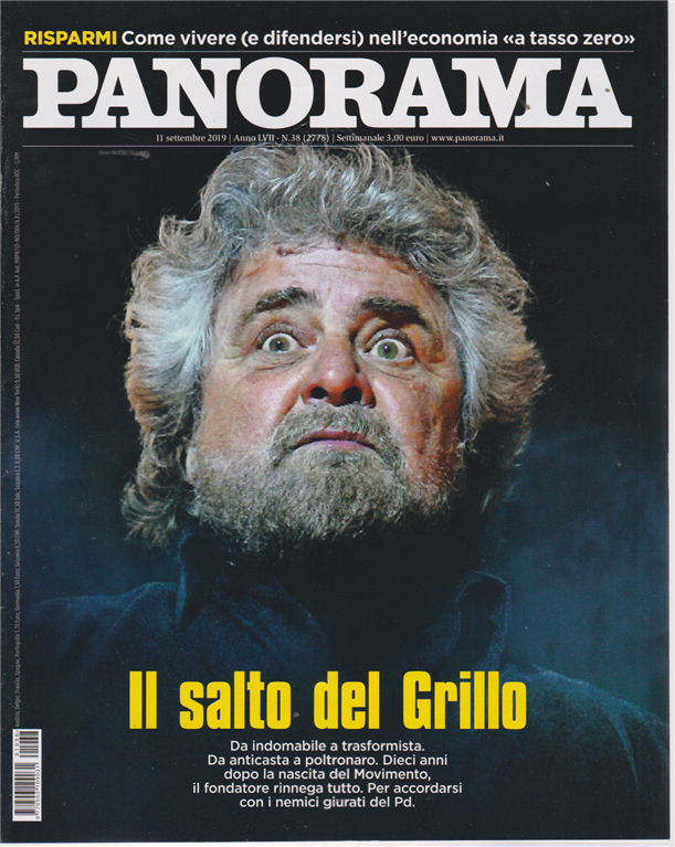 Panorama - n. 38 - 11 settembre 2019 - settimanale