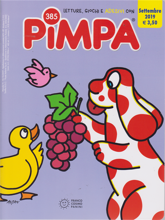 Pimpa - n. 385 - settembre 2019 - mensile