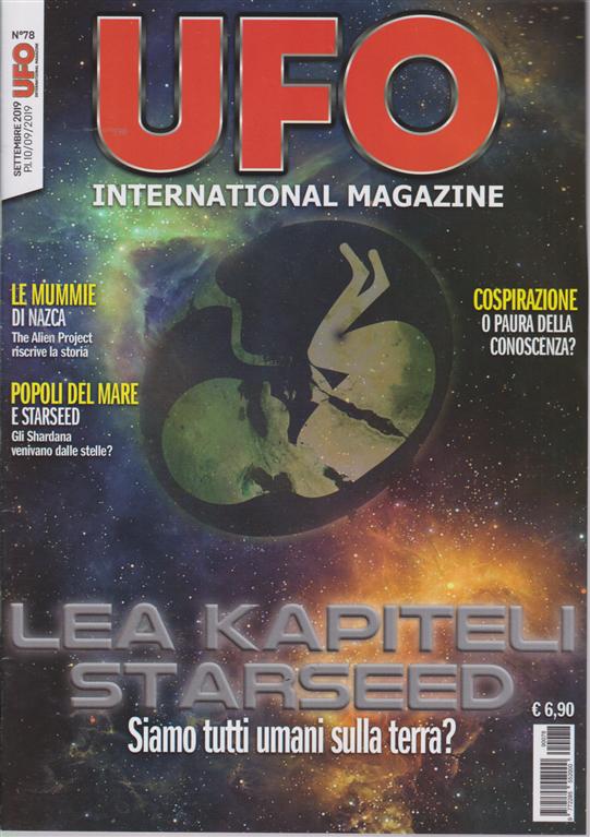 Ufo International magazine - n. 78 - settembre 2019 - mensile