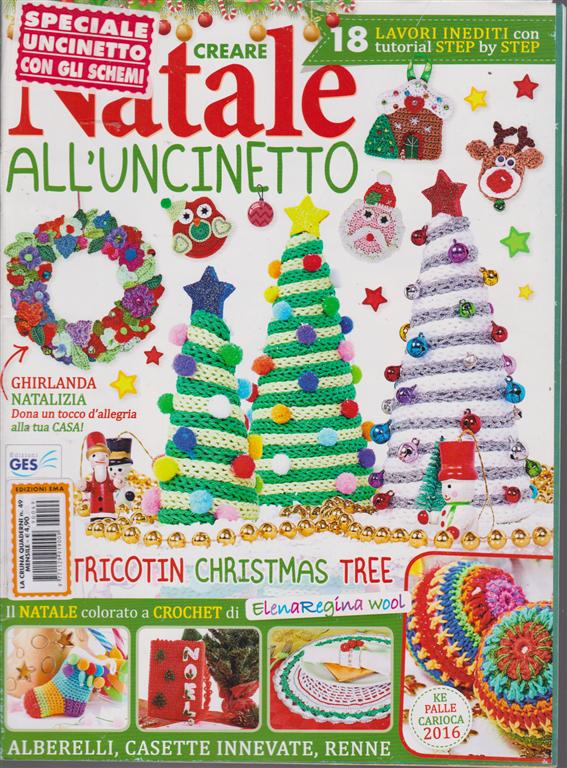 La Cruna Quaderni Creare Natale All Uncinetto N 49