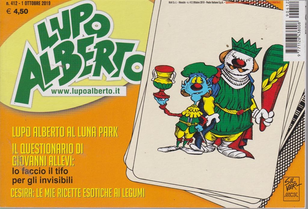 Lupo Alberto - n. 412 - 1 ottobre 2019 - mensile