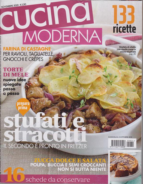 Cucina Moderna Giugno 2020.Cucina Moderna N 11 Novembre 2019 Mensile Edicola Shop