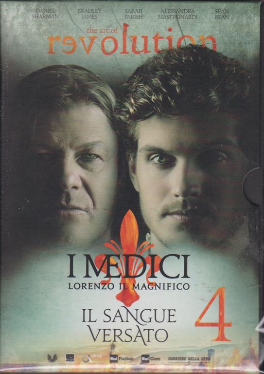 I Medici - Lorenzo il Magnifico - quarta uscita -Il sangue versato - settimanale - dvd