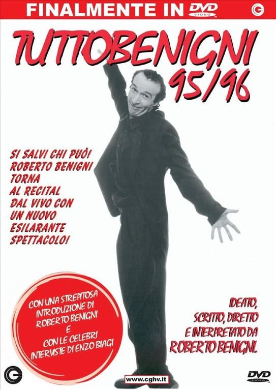 Tutto Benigni 95/96 - Roberto Benigni - DVD