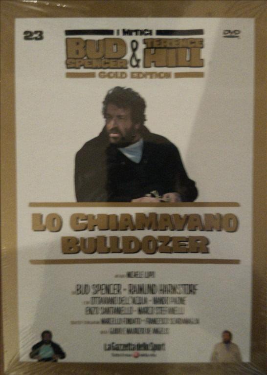 I MITICI BUD SPENCER E TERENCE HILL GOLD EDITION n.23 - DVD LO CHIAMAVANO BULLDOZER