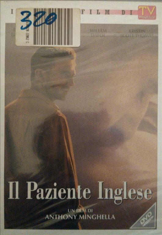Il Paziente Inglese - Willem Dafoe - DVD