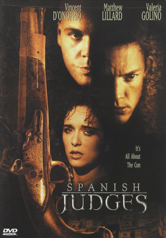 Spanish Judges - Vincent D'Onofrio - DVD
