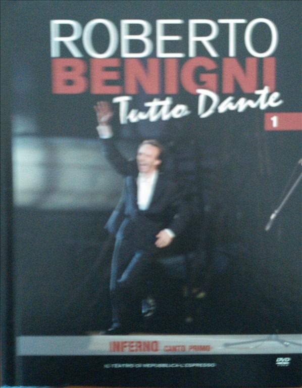 Roberto Benigni in TUTTO DANTE vol. 1 INFERNO canto Primo - DVD + Libro