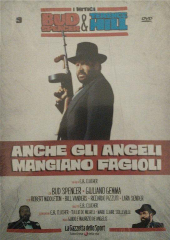 BUD SPENCER E TERENCE HILL - ANCHE GLI ANGELI MANGIANO FAGIOLI - FILM DVD