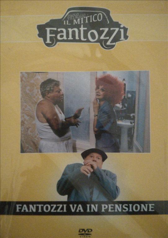 Il mitico Fantozzi n.5 - Fantozzi va in pensione - DVD