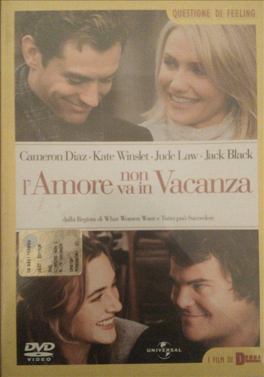L' Amore Non Va In Vacanza - Cameron Diaz - DVD
