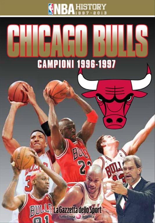 CHICAGO BULLS CAMPIONI 1997 n.1