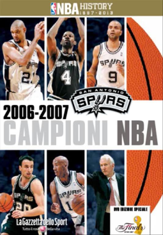 SAN ANTONIO SPURS CAMPIONI 2007 n.11