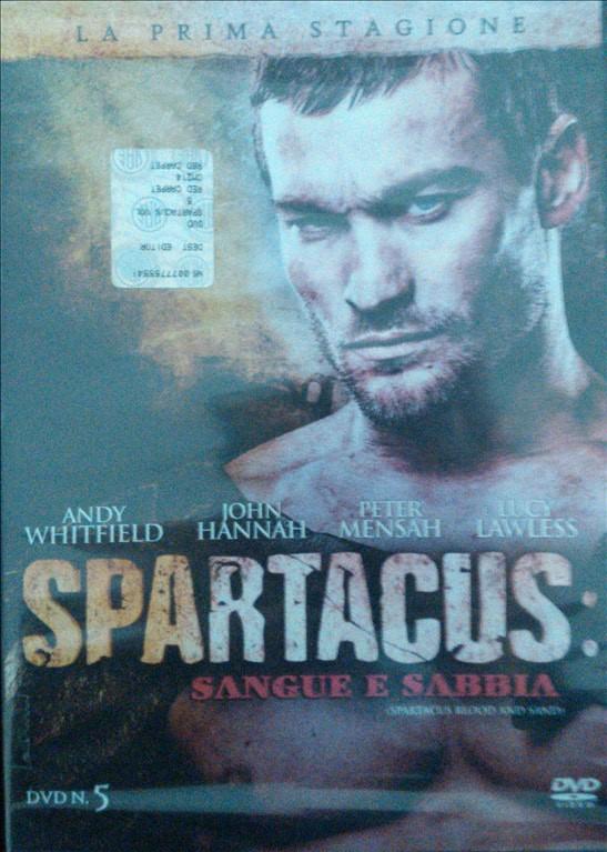 Spartacus - Sangue E Sabbia - Stagione 01 - DVD n.5