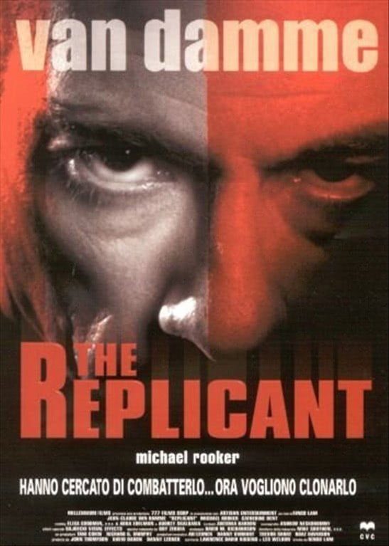 The Replicant - Jean-Claude Van Damme - DVD