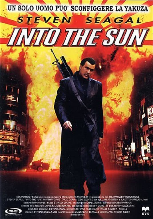 Into The Sun - Steven Seagal - DVD