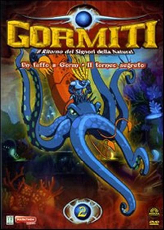 GORMITI 02 - UN TUFFO A GORM / IL TORNEO SEGRETO (DVD)