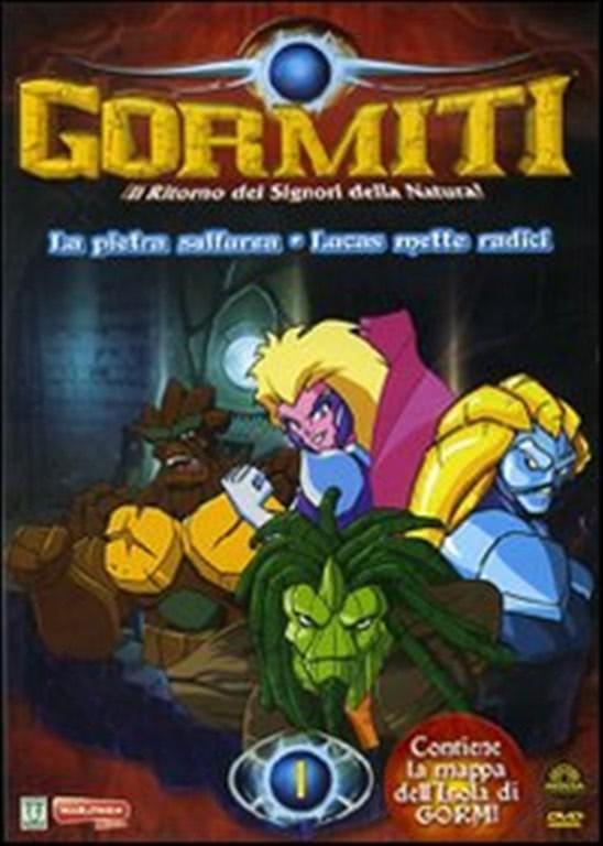 GORMITI 01 - LA PIETRA SULFUREA / LUCAS METTE RADICI (DVD)