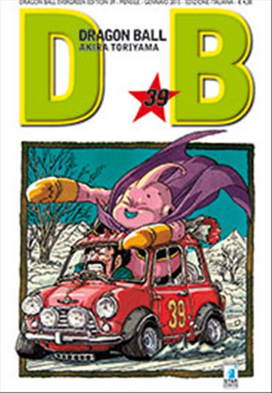 Manga DRAGON BALL EVERGREEN EDITION n.39 - STAR COMICS