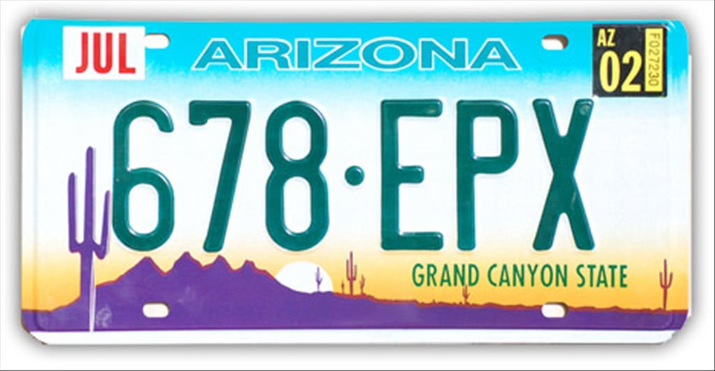 Targa Auto Americana Arizona Grand Canyon State Fabbri