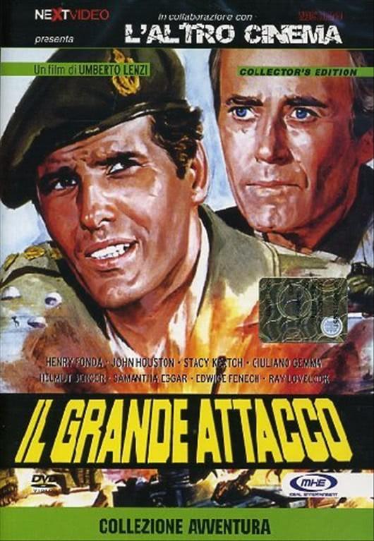 Il Grande Attacco un film di Umberto Lenzi - DVD