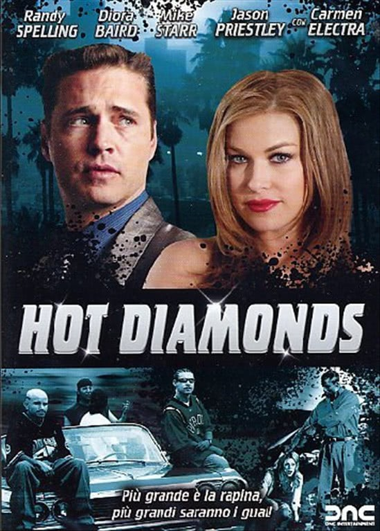 Hot Diamonds -  Jason Priestley, Carmen Electra, Randy Spelling, Diora Baird, Mike Starr - DVD