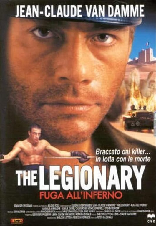 The Legionary - Fuga Dall'Inferno - Jean-Claude Van Damme - DVD