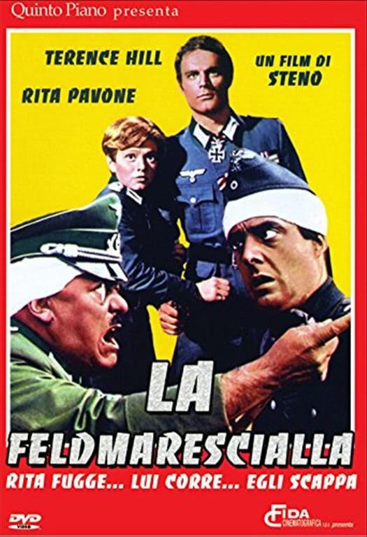 La Feldmarescialla un film di Steno - Terence Hill, Rita Pavone - DVD