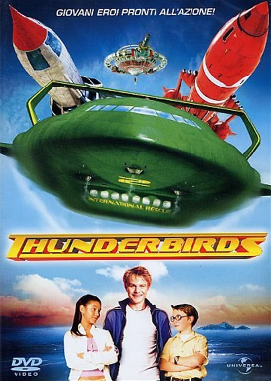 Thunderbirds - Giovani eroi pronti all'azione! (DVD)