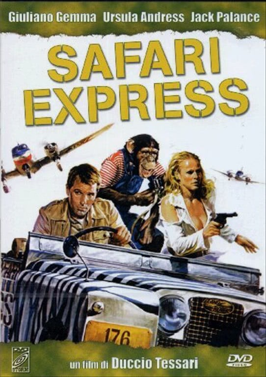 Safari Express - Giuliano Gemma; Ursula Andress; Jack Palance (DVD)