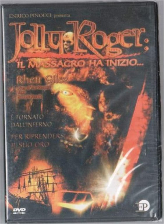Jolly Roger Il Massacro ha Inizio -  Rhett Giles, Tom Nagel, Kristina Korn, Tom Downey (DVD)