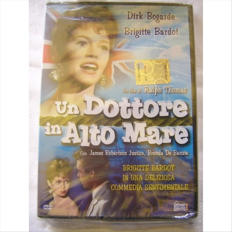 UN DOTTORE IN ALTO MARE - FILM DVD
