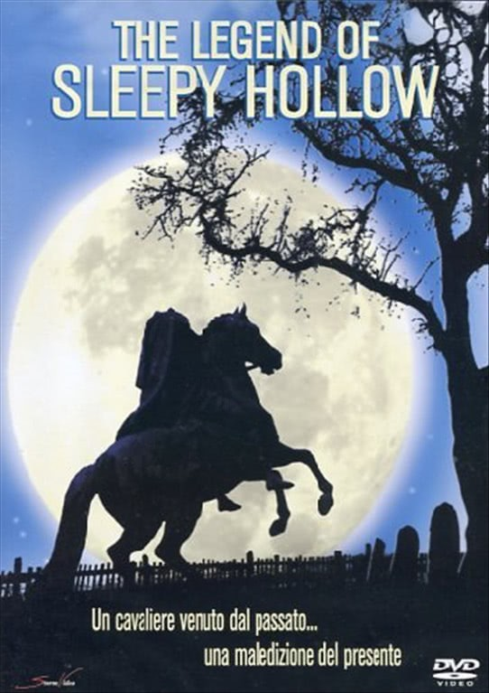 The Legend Of Sleepy Hollow - Brent Carver, Vlasta Vrana, Rachelle Lefevre (DVD)