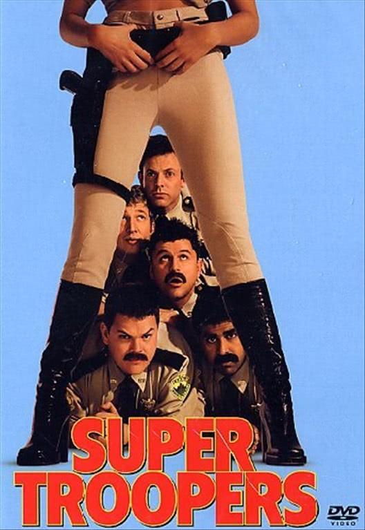Super Troopers -  Brian Cox, Steve Lemme, Jay Chandrasekhar, Paul Soter (DVD)